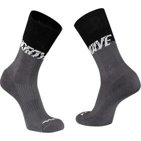 Northwave Edge Socks, negro/gris